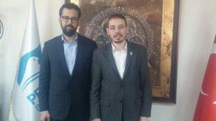 Pendik Beldiye Başkan Yardımcısı Divleli'yi Makamında Ziyaret Ettik