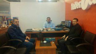 Haber7.Com Genel Yayın Yönetmeni Erdoğan'ı ziyaret ettik