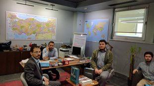TRT WORLD Haber Genel Koordinatörü Fatih Er'i ziyaret ettik
