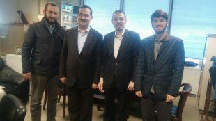 İHA Haber Genel Koordinatörü Altıkardeş'i ziyaret ettik