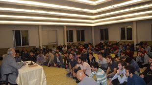 Emekli Vaiz Mehmet Taşkıran İle Hadis Sohbetleri Yapıldı