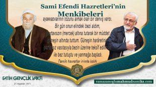 Sami Efendi (k.s.)'dan Mürşid-i Kamil'in Görevleri