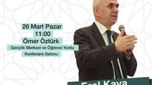 Başkan Yardımcısı Kaya FGV'de Konferans Verdi