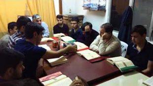 Fatih Gençlik Vakfında Kuran Dersi