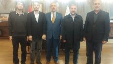 Rektör Prof. Dr. Mahmut Ak'ı Ziyaret Ettik