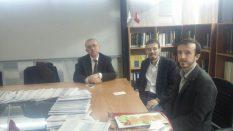Dekan Prof. Dr. M. Hüsrev Subaşı'yı Makamında ziyaret ettik
