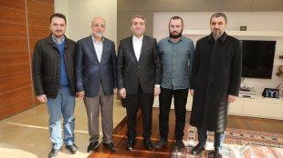 Ak Parti İstanbul İl Başkanı Temurci'yi ziyaret ettik