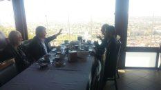 Konya Büyükşehir Belediye Başkanı Tahir Akyürek'i Ziyaret Ettik