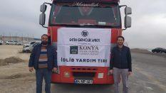 Fatih Gençlik Vakfı'ndan İdlib'e 1 TIR yardım – Haber7