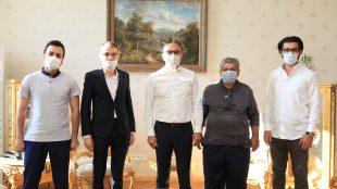 Yıldız Teknik Üniversitesi Rektörü Prof. Dr. Tamer Yılmaz'ı ziyaret ettik.